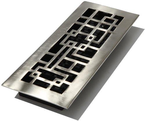 Brushed Nickel Solid Brass Floor - 5
