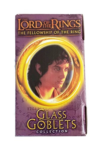 The Lord of the Rings The Fellowship of the Ring Light-Up Glass Goblets Collection - Frodo