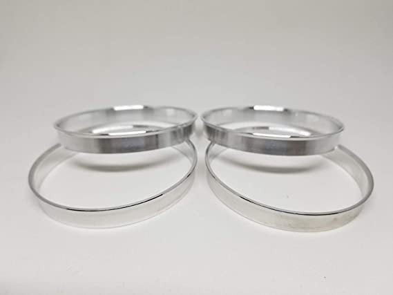 Sonic Tuning 4 Pieces Aluminum Hub Centric Rings 73.1mm OD to 57.1mm ID