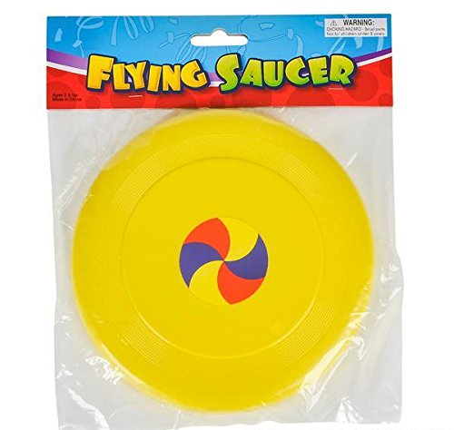 8'' FLYING DISC SAUCER, Case of 144 by DollarItemDirect (Image #3)