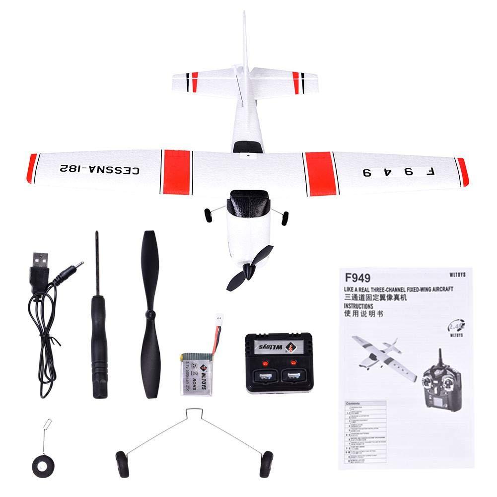 2.4 G Cessna-182 Drone, 3.7v 500mah 25c batería de alta velocidad ...