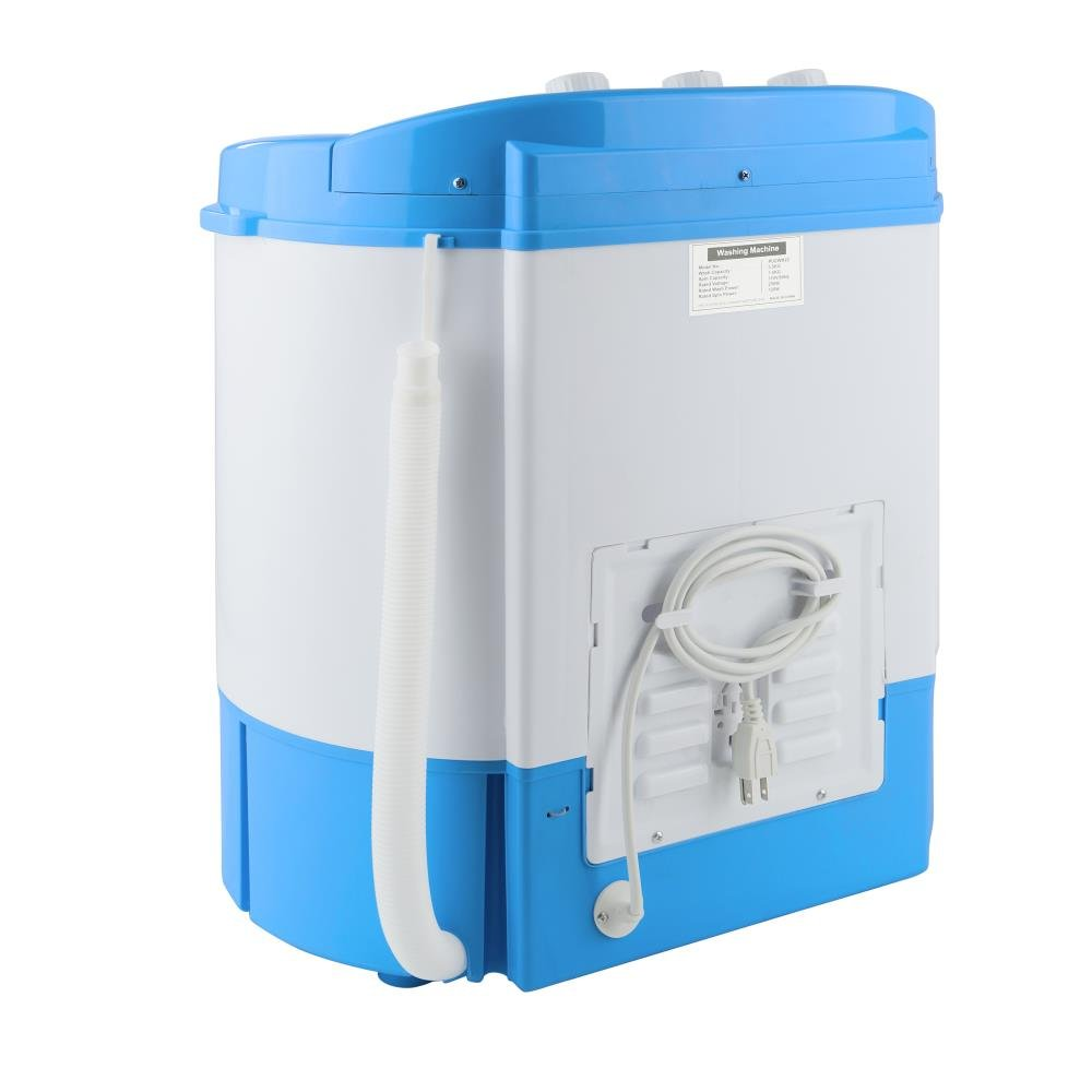 electric portable washing machine spin dryer compact. Black Bedroom Furniture Sets. Home Design Ideas