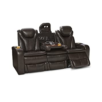 Amazon Com Barcalounger Colima Leather Home Theater Seating Power