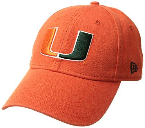 Miami Hurricanes Campus Classic Adjustable Hat - Orange ,
