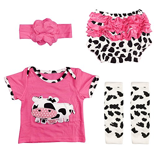 Reborn Baby Doll Outfits Accessories 4 Piece Set for 20