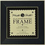 Mill Hill Wooden Frame, 6 by 6-Inch, Matte Blue