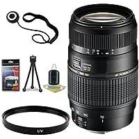 Tamron AF 70-300mm f/4.0-5.6 Di LD Macro Zoom Lens with Built In Motor for Sony Digital SLR Cameras + 62mm UV Filter + Lens Cap Keeper + Deluxe Starter Kit DavisMax Bundle