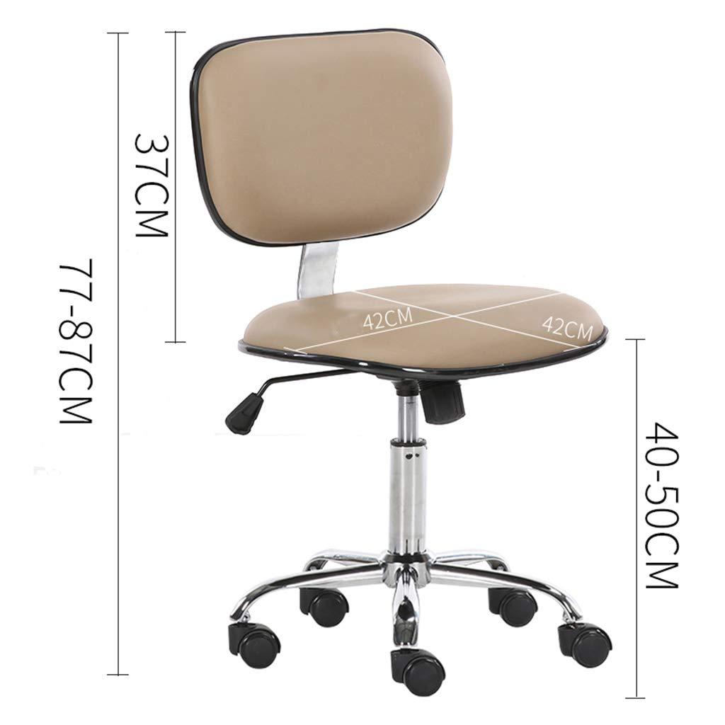 Kontorsstolar svängbara skrivbordsstolar, 130 graders avslappnande justering, bekvämt tjockt ryggstöd hög densitet svamp nr3