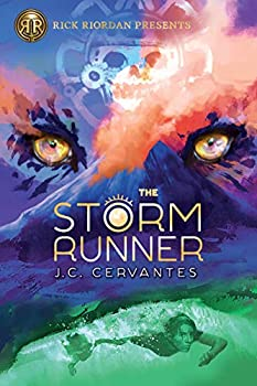 The Storm Runner by J.C. Cervantes children's fantasy book reviews