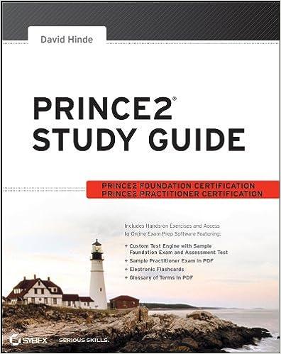 Prince2 Foundation Ebook