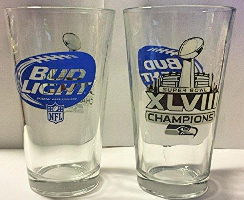 seattle-seahawks-bud-light-pint-glasses-super-bowl-xlviii-beer-pints-set-of-2