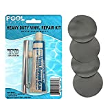 Best Air Mattress Patch Kits - Flocked Grey Vinyl Repair Patch Glue Kit Review