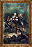 Archibald Willard The Spirit of -76 - 18.5'' x 27.5'' Framed Premium Canvas Print