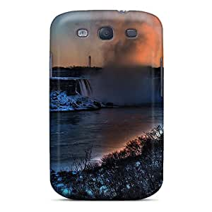 For Galaxy S3 Tpu Phone Case Cover(niagara Falls In The Winter)