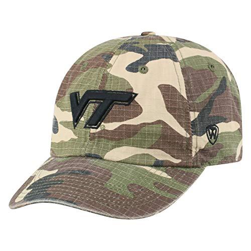 748cf270b9ab3 Virginia Tech Hokies Camouflage Caps. Top of the World NCAA Virginia Tech  Hokies Men s American Hero s Adjustable Icon Hat ...