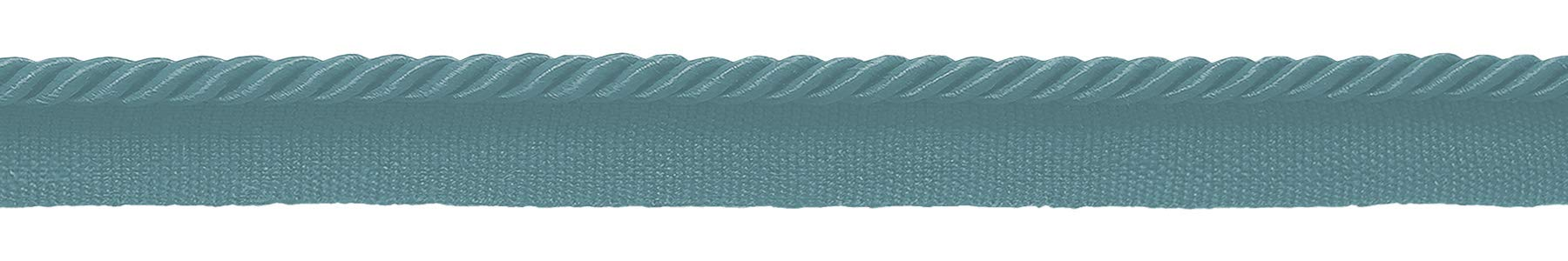 DÉCOPRO 24 Yard Package|Small 3/16 inch Light Aqua Blue Basic Trim Decorative Rope|Style# 0316S (21976)|Color: Ocean Blue - M17|72 Ft / 21.9 Meters by DÉCOPRO