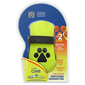 Furminator Curry Comb for Dogs 16