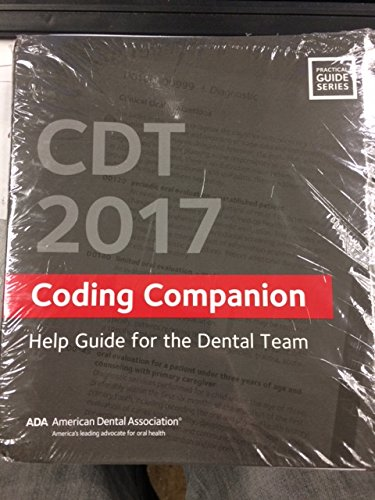 Cdt 2017 Companion: Help Guide for the Dental Team