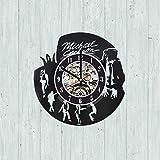 Michael Jackson Vinyl Clock, Michael Jackson Wall