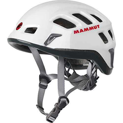 Mammut Rock Rider Climbing Helmet White/Smoke, 56-61cm by Mammut