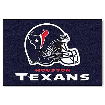 FANMATS NFL Houston Texans Nylon Face Starter Rug