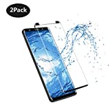 [2 Pack] Galaxy Note8 Tempered Glass Screen Protector, CY nidetly [New Version] [Case Friendly][Anti-Fingerprint] [9H Hardness] Screen Protector for Samsung Galaxy Note 8 [Black] (Note8/2Pack)