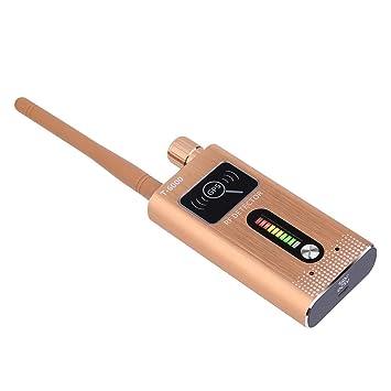 XuBa Detector de Insectos Anti espía señal GPS RF Detector de cámara Detector GPS Gold UK Plug: Amazon.es: Informática