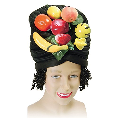 Bristol Novelty BH387 Fruit Hat and Hair, Multi-Colour, One -
