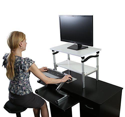 Lift Standing Desk Conversion Kit Ergonomic Adjustable