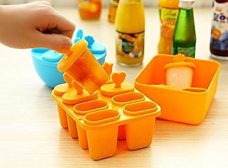 Compra doitsa 8 Cells DIY Ice-lolly molde para helado con ...