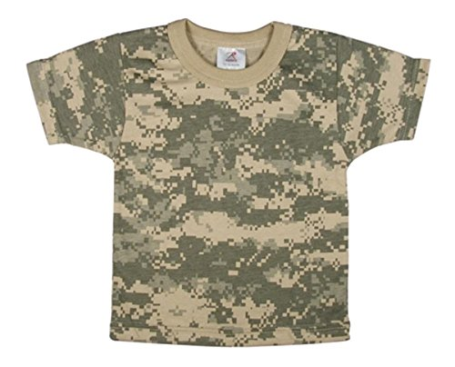 Rothco Infant T-Shirt, ACU Digital Camo, 9-12 Months