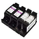 Sophia Global Remanufactured Ink Cartridge Replacement for HP 45 and HP 78 (2 Black, 2 Color)