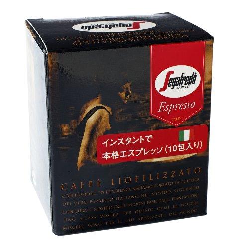 Segafredo Zanetti (Massimo Zanetti) instant espresso 1.6gX10P