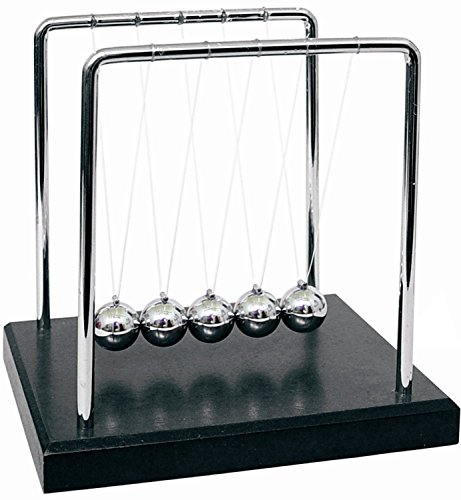Review HevaKa Newtons Cradle Balance Balls - Art In Motion