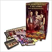 Devir - Spartacus Las Serpientes y el Lobo, juego de mesa BMSPARTA2: Amazon.es: Not Available: Libros