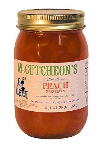 Mccutcheon, Preserve Peach, 20 Ounce