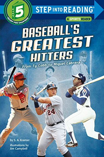 (Baseball's Greatest Hitters: From Ty Cobb to Miguel Cabrera (Step into Reading))