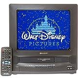 "Sharp 13VT-L100 13"" Television TV/VCR Combo w/ VHS HQ"