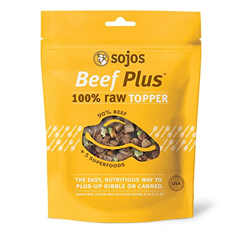 Sojos Beef Plus Topper Dog Food, 4 Oz For Sale