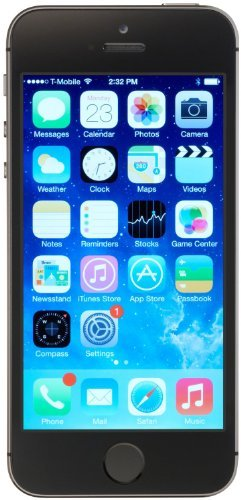 Apple iPhone 5S, AT&T, 32GB - Space Gray (Renewed) by Apple