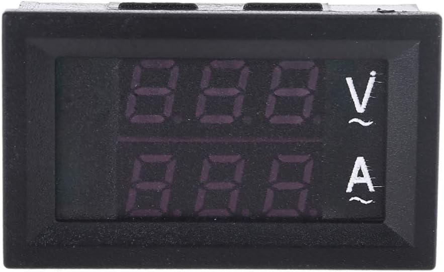 planuuik 0,28Voltm/ètre Num/érique Amp/èrem/ètre AC 60-500V 10A 50A 100A Jauge de Voltm/ètre