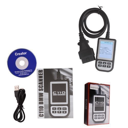 Creator Ultimatecarparts c110 Plus Scanner Engine Diagnostic Airbag ABS Fault Code Scan Tool Reader