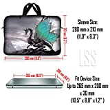 LSS 10 10.2 inch Laptop Sleeve Bag Compatible with