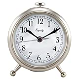 Best Amazon Alarm Clocks - La Crosse Technology 25655 Small Silver Metal Alarm Review