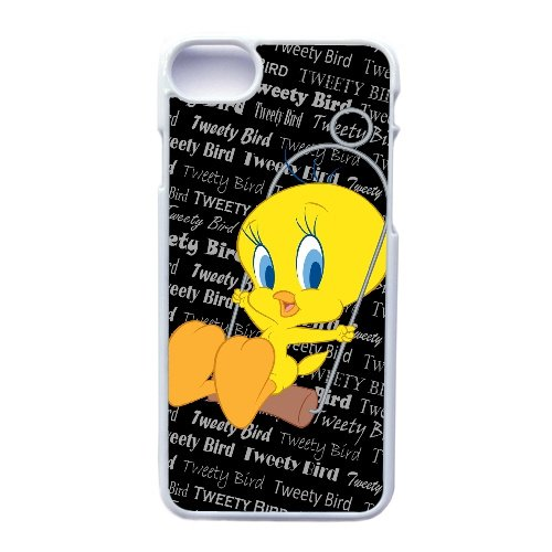 Coque,Apple Coque iphone 7 (4.7 pouce) Case Coque, Generic Baby Angry Tweety Bird Cover Case Cover for Coque iphone 7 (4.7 pouce) blanc Hard Plastic Phone Case Cover