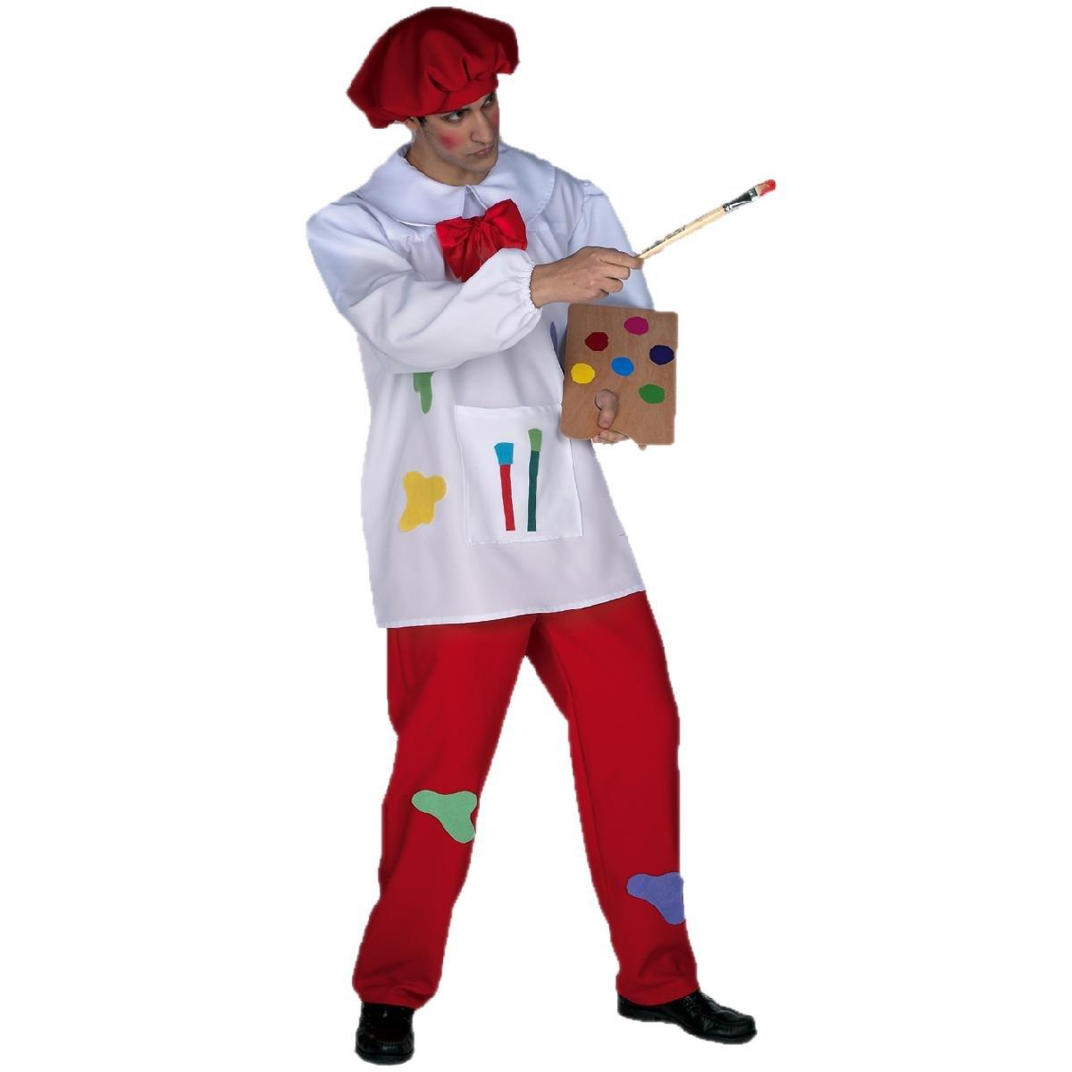 Disfraz pintor adulto. Talla 50 52.  Amazon.es  Juguetes y juegos b07e4eeee6a