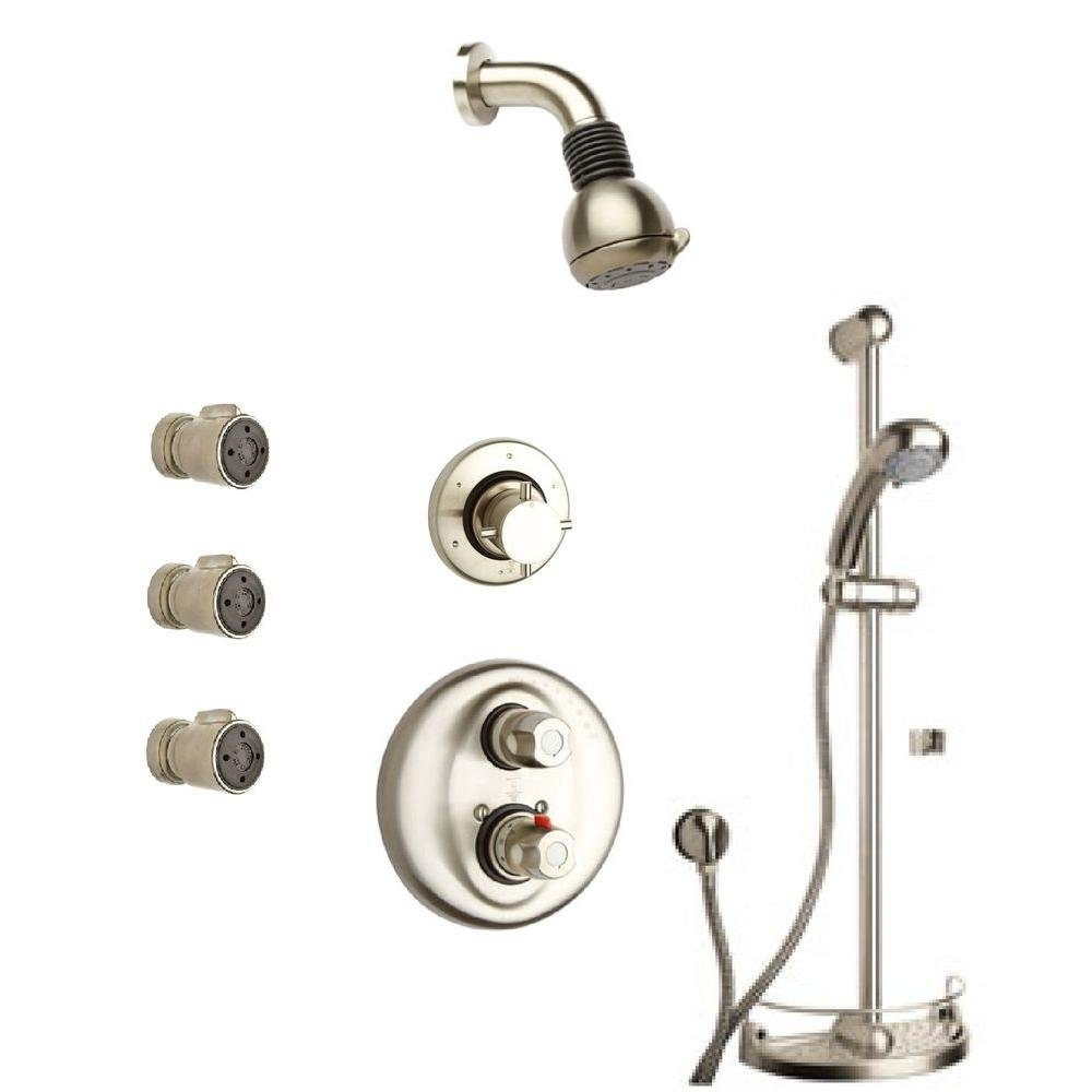 La Toscana by Paini SHOWER7BN Water Harmony Shower System Brushed ...