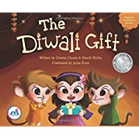 The Diwali Gift (Award winning picture book on Indian Culture, Celebrate Diwali Festival, Non-Religious, Great for Indian American, Biracial Families, multicultural children 0-8 years.)
