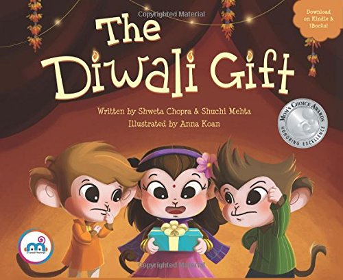 Download The Diwali Gift (Award winning picture book on Indian Culture, Celebrate Diwali Festival, Non-Religious, Great for Indian American, Biracial Families, multicultural children 0-8 years.) pdf epub