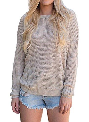 Vrac En V BLACKMYTH Casual Sweaters Crois Femme Tricot 7Y5Ew